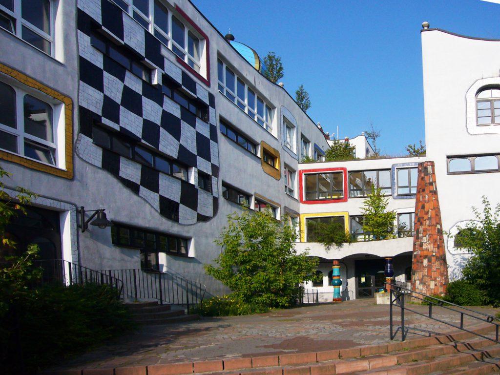 Hundertwasser-schule Wittenberg – CBM Baumanagement GmbH