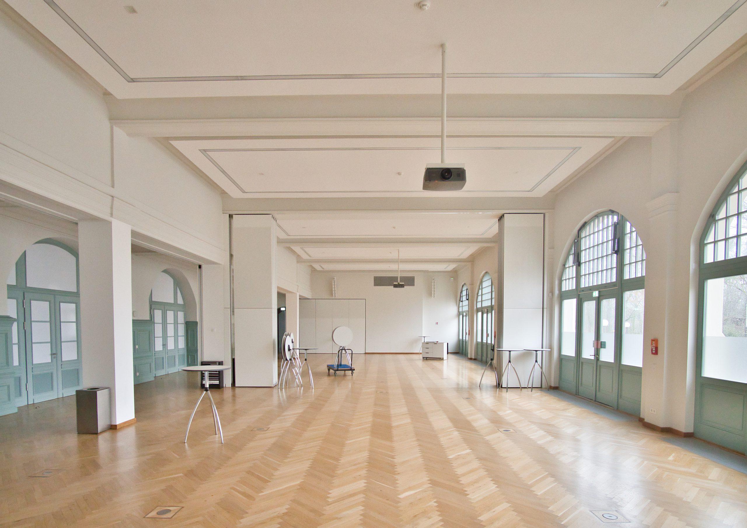 Richard-Wagner Saal nach Fertigstellung
