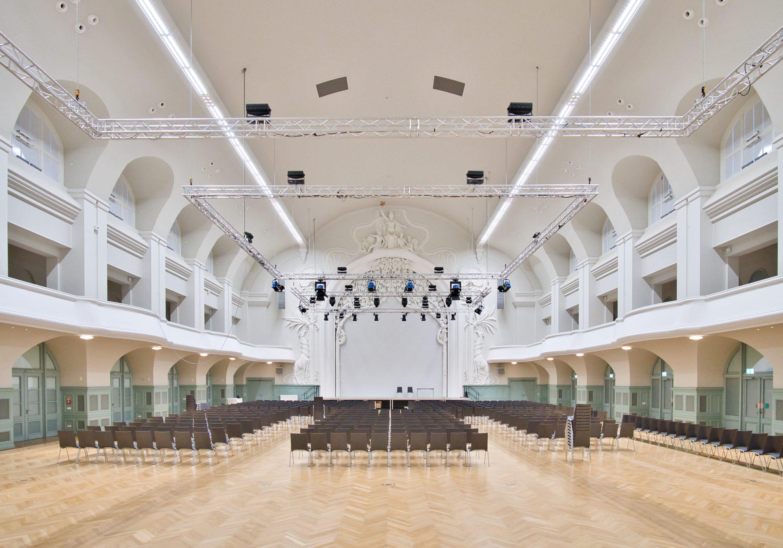 Großer Saal nach Fertigstellung